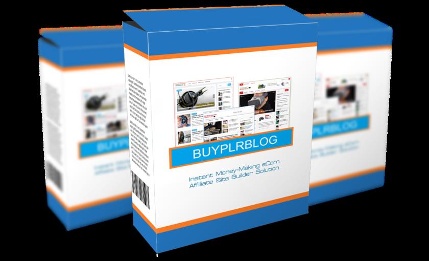 Image - BuyPLRBlogs Software Box