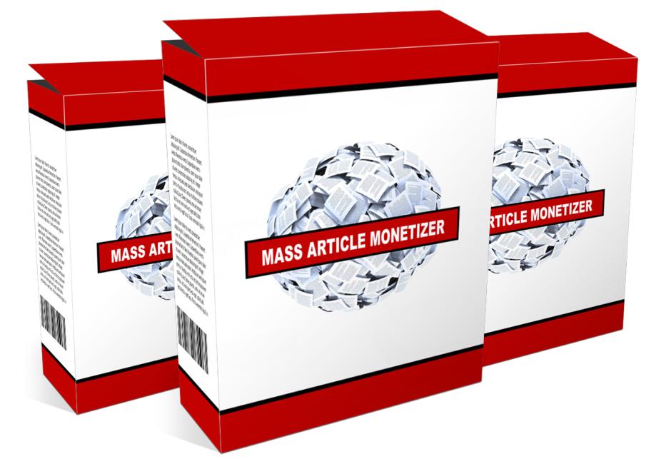 (image) Mass Article Monetizer Software Box