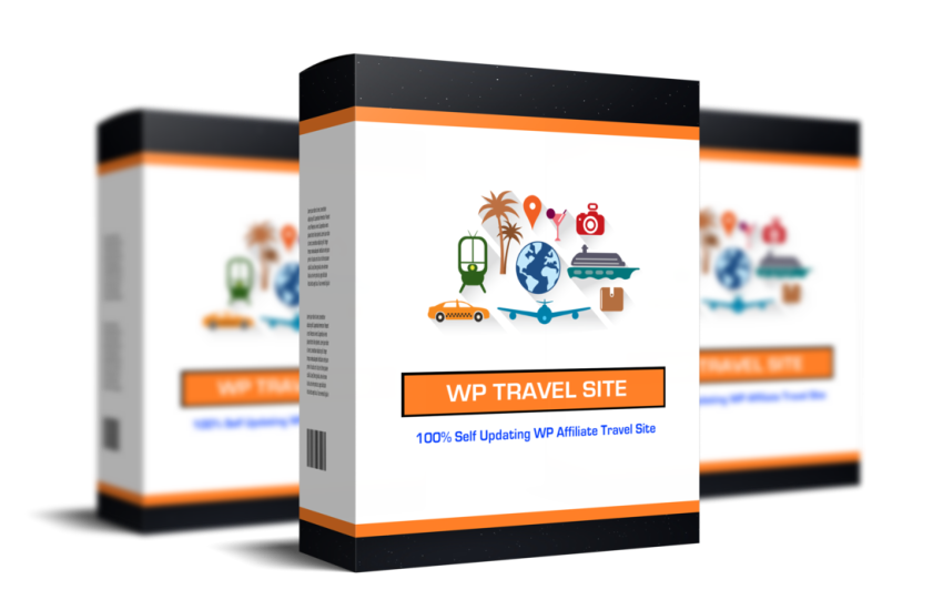 Image - WP TravelSite Software Box