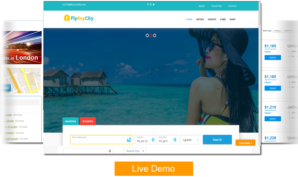 Image - Wp Travel Site Demo
